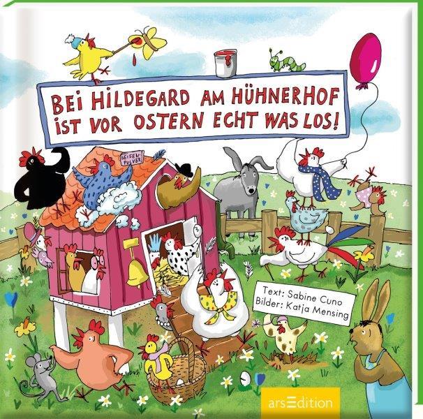 Bei Hildegard am Hühnerhof ist vor Ostern echt was los!
