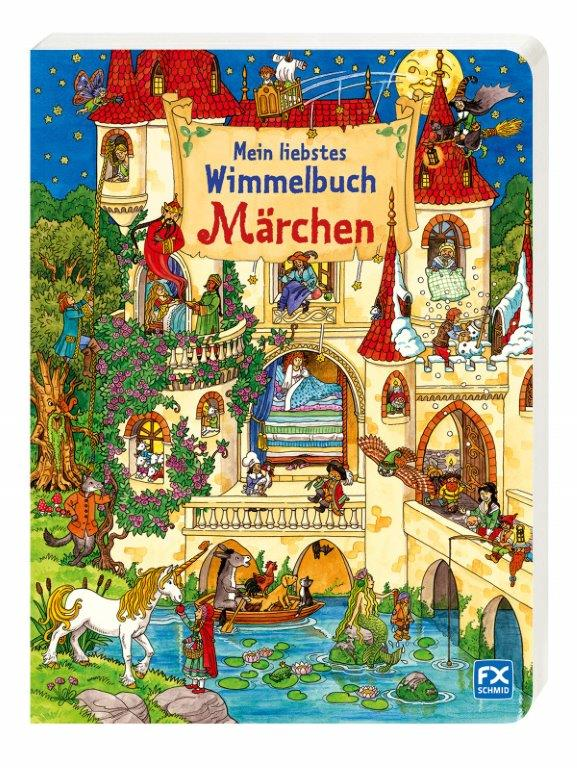 Wimmelbuch Märchen FX Schmid